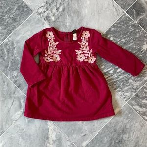 Girls knit dress 18-24m
